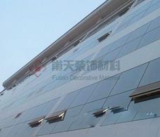 芜湖卷烟厂户外铝单板幕墙案例