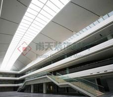 成都市办公中心铝单板幕墙案例