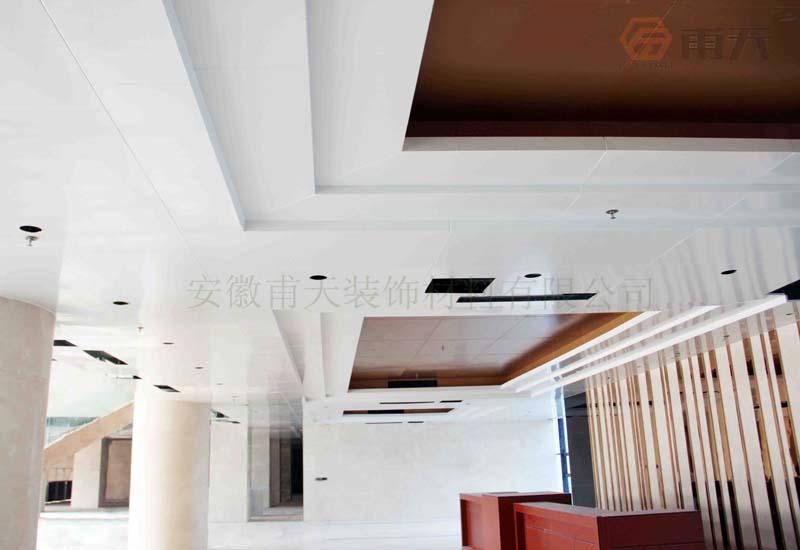 连云港物流产业园铝单板幕墙案例