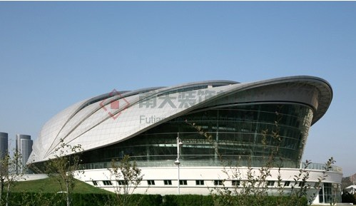 大连贝壳博物馆铝单板幕墙案例