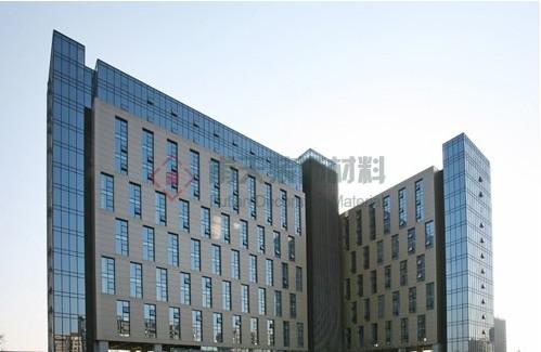 南京国际服务外包产业园室内铝单板案例
