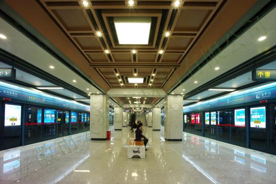 西安铝单板幕墙案例—西安地铁2号线