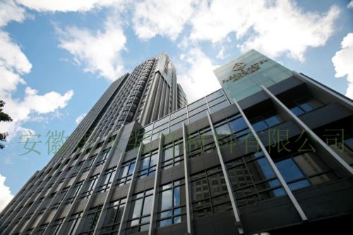 室内铝单板幕墙案例-上海浦东大酒店