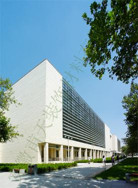 室外铝单板幕墙案例—河北省图书馆