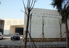 室外铝单板幕墙案例—安徽桐城文化博物馆