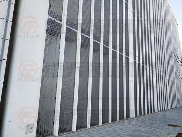 霍邱县建设局外墙铝单板项目