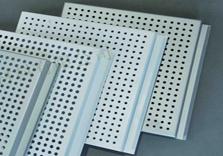 室内-冲孔勾搭式铝单板
